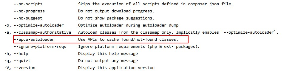 composer dumpautoload